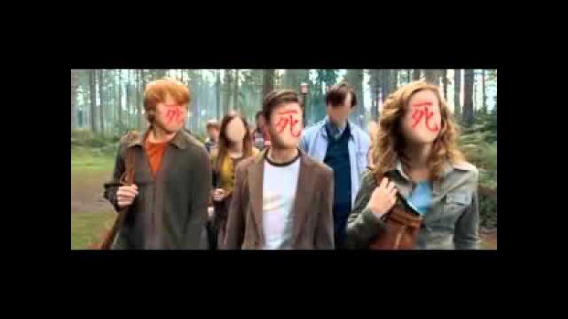 Если бы заставку к Гарри Поттеру делали анимешники