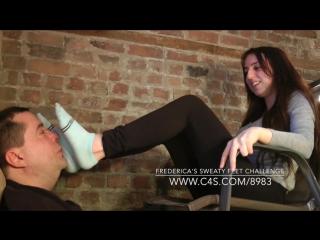 Frederica's Sweaty Feet Challenge - (Dreamgirls in Socks)