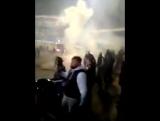 Беспорядки на матче Факел - Динамо 2 - Dynamo against Fakel