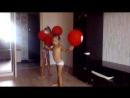 танец с воздушными шариками (группа поддержки))