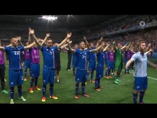 Еще одно видео с Исландскими футболистами и фанатами