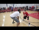 Джеймс Харден унижает школьник 1 на 1 в баскетболе basketball James Harden humiliates a schoolboy in on 1vs1