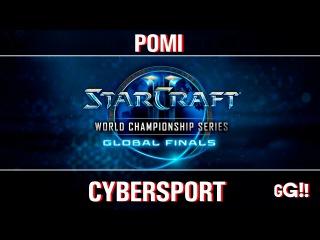 WCS Global Playoff2016 - день1/часть3 - Pomi