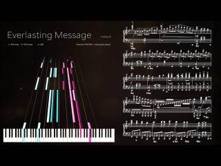 ピアノ楽譜で Everlasting Message (SOUND VOLTEX) Piano Version