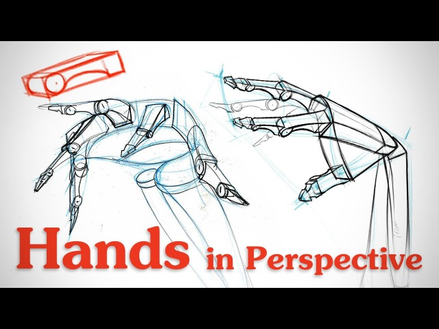 Drawing Hands in Perspective - Hand Bone Critiques