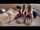 Вязаные тапочки Vivchari Easy slippers