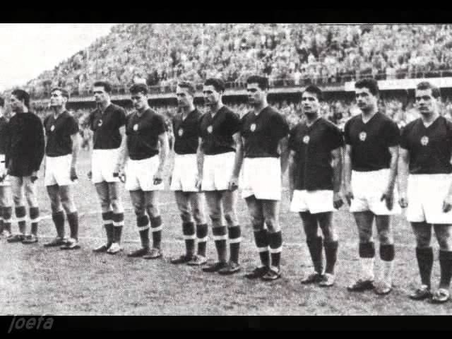1958 WC G3 R2 Sweden - Hungary (12.06.1958)