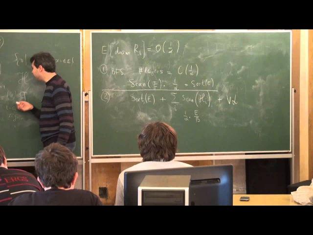 Лекция 4 Алгоритмы во внешней памяти Максим Бабенко Лекториум смотреть онлайн без регистрации