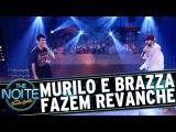 The Noite (251016) - Murilo e Brazza fazem revanche em Batalha de Rap