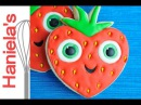 How To Decorate Barry Strawberry Cookie from Cloudy with A Chance of Meatballs 2