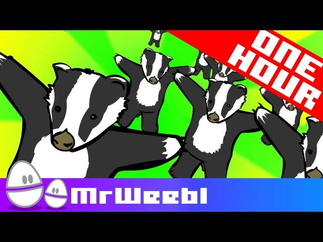 Badger Badger Badger 1 Hour Weebl