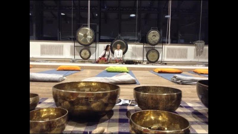 Гонг медитация Gong Bath by Yoga Gong Studio