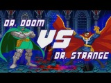 Dr. Strange vs. Dr. Doom - Boss Battles(анимация, на русском)