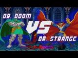 Dr. Strange vs. Dr. Doom - Boss Battles(анимация, на русском)
