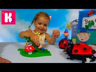 Маленькое королевство Бена и Холли огромная коробка с игрушками Бэн и Холи и игр...