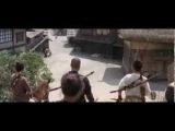 Zatoichi vs bandits (Zatoichi's Pilgrimage)