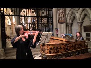 J.S.Bach Sonata for violin and piano BWV 1015