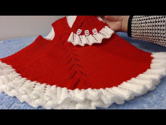 Платье для Грэйси. 2. Спинка. Р. 41-50