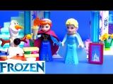 LEGO Disney Обзор Ледяной замок Эльзы 41062. Игрушки по мультику Дисней Frozen. LEGO Обзоры Warlord