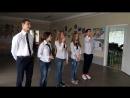 Креативне привітання від 11 класу та їхнього класного керівника