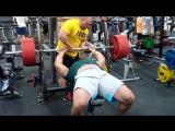 Руслан Багиров (Беларусь), жим узким хватом - 220 кг ?