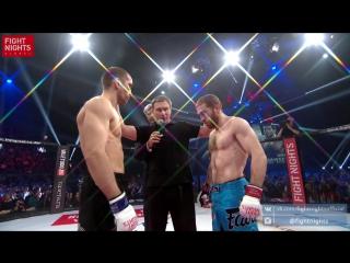 Лучшие моменты боя Мурад Мачаев vs. Александр Сарнавский на FN GLOBAL 44