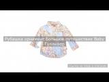 Рубашка орнамент Большое путешествие Baby Гулливер