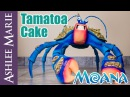 How to make a Giant Tamatoa Cake From Disney's Moana - Life size coconut crab cake