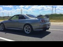 R33 GT-R Tunnel Flyby (Nismo 400R Titanium Exhaust Mines Front Pipe)