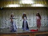 Шулешко Мария, Дьяконова Мария,Убийко Арина танец с шалью студия восточного танца IMPULS