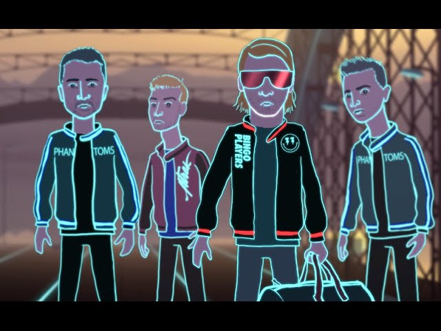 Bingo Players - Cry (Just A Little) (A-Trak and Phantoms Remix) [Official Music Video]