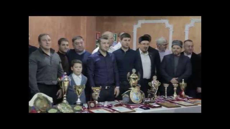 Чествование чемпиона Европы 2016 - Даци Дациева (г.Саратов)