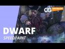 Speed Painting Dwarf Trouvaille Рисуем иллюстрацию CG Speedpaint