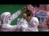 170116 아육대 방탄소년단 지민 뷔 박지민 디자이너쌤의 태깨비 스타일