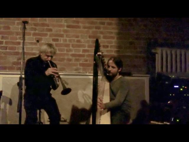 Erik Truffaz, Philipp Barsky, Artis Orubs jamming in Masterskaya Bar, full version