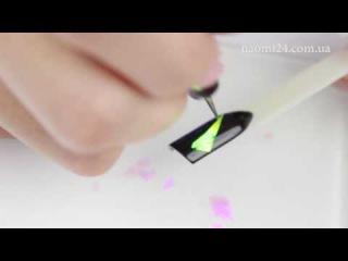 Фольга для ногтей, битое стекло , цвет розовый хамелеон