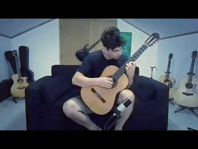 Resident Evil 4 Save Room Theme on Acoustic Guitar by GuitarGamer (Fabio Lima)