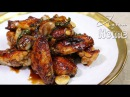 Asian at Home | Sticky Honey Garlic Wings