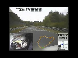 Revo vw t5 transporter nurburgring van lap record