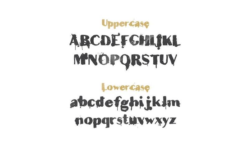 Download Teardrop font (typeface)
