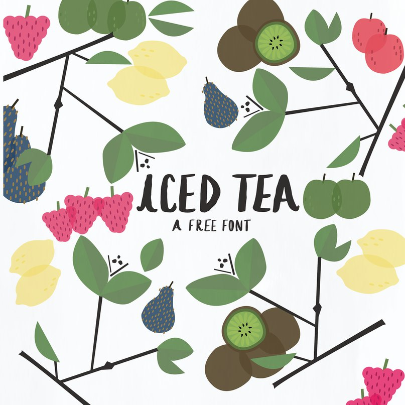 Download Iced Tea font (typeface)