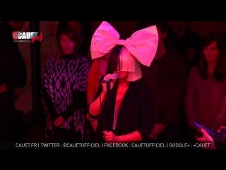 Sia - Chandelier - Live - C'Cauet sur NRJ