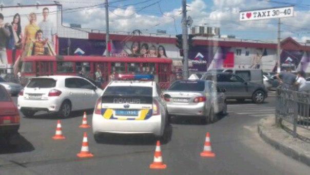 Харьковские копы провалили экзамен по вождению (ФОТО)