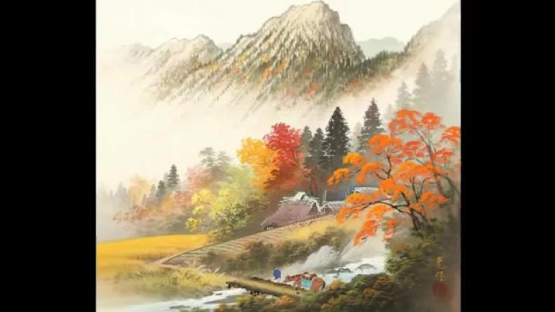 Очарование японских пейзажей от художника Коукеи Кодзима [小島光径]