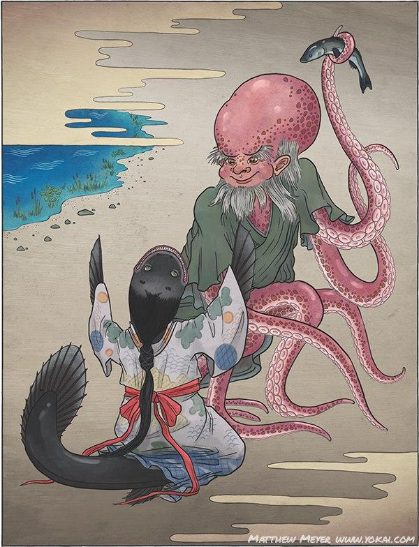 Тако нюдо (Tako nyūdō)