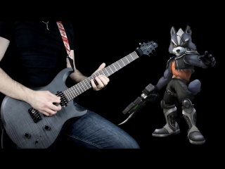 "Star Fox - Star Wolfs Theme ""Epic Metal"" Cover (Little V)"