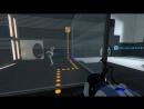 Portal 2 co-op 1 (роботы-калькуляторы)