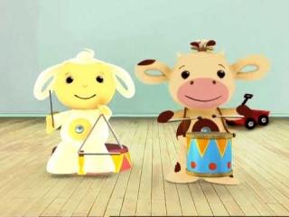 (1)Развивающий мультфильм для самых маленьких детей от 3 до 11 месяцев TINY LOVE