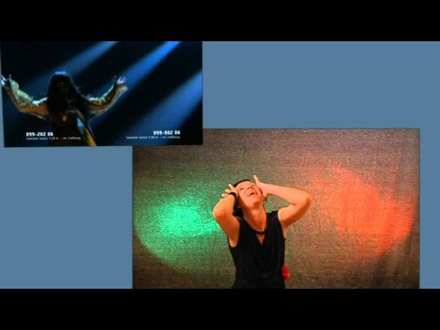 Loreen - Euphoria, svenskt teckenspråk / Swedish sign language / lengua de seños sueca