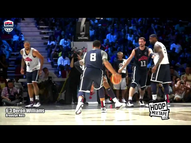 Team USA Scrimmage 2 HD Chris Paul Fakes Out Anthony Davis KD To Lebron Alleyoop more